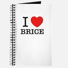 I Love BRICE Journal