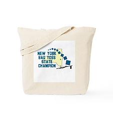 New York Bag Toss State Champ Tote Bag