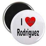 I Love Rodriguez Magnet