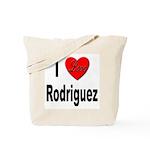 I Love Rodriguez Tote Bag