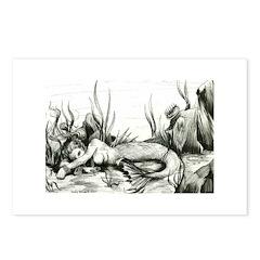 Mermaid Postcards (Package of 8)