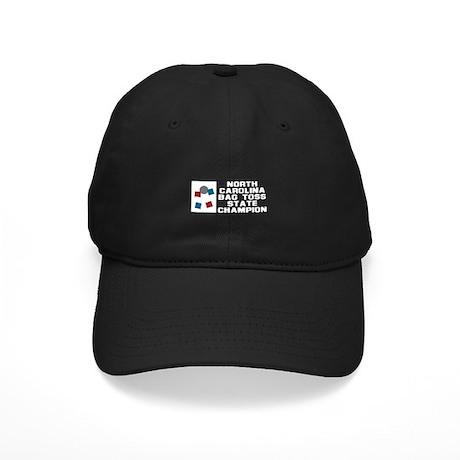 North Carolina Bag Toss State Black Cap