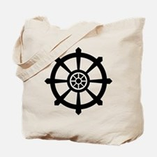 Dharma Wheel Tote Bag