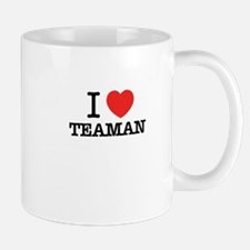 I Love TEAMAN Mugs