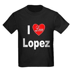 I Love Lopez (Front) T