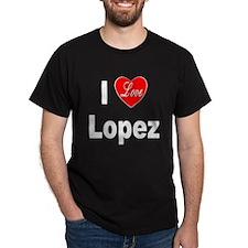 I Love Lopez (Front) T-Shirt