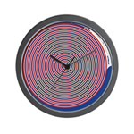 Subliminal Fall in Love With Me Wall Clock
