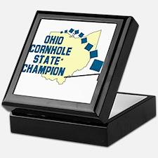Ohio Cornhole State Champion Keepsake Box