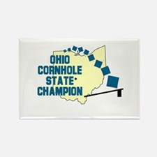 Ohio Cornhole State Champion Rectangle Magnet