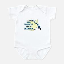 Ohio Cornhole State Champion Infant Bodysuit
