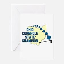 Ohio Cornhole State Champion Greeting Cards (Pk of