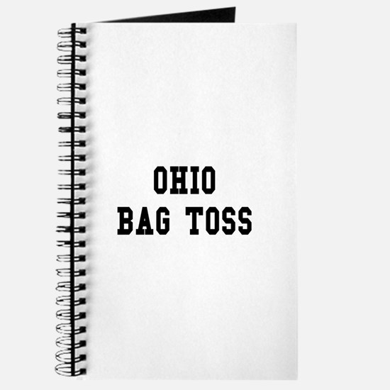 Ohio Bag Toss Journal