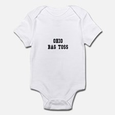 Ohio Bag Toss Infant Bodysuit