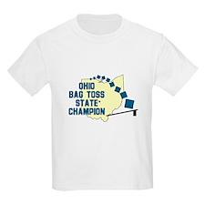 Ohio Bag Toss State Champion T-Shirt