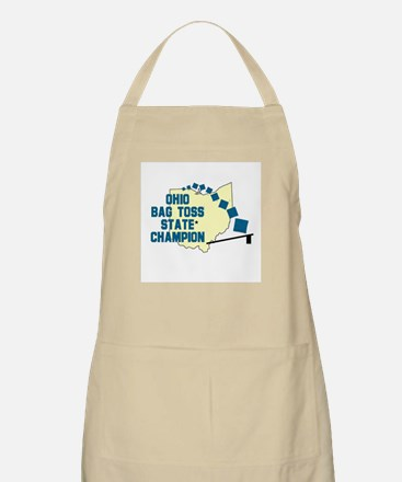 Ohio Bag Toss State Champion BBQ Apron