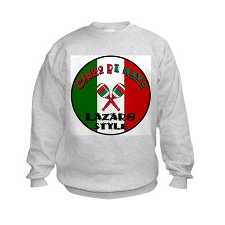 Lazaro Cinco De Mayo Kids Sweatshirt