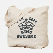 I'm sofa king Tote Bag