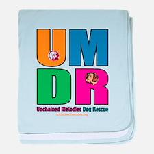 UMDR Colorful Outline baby blanket