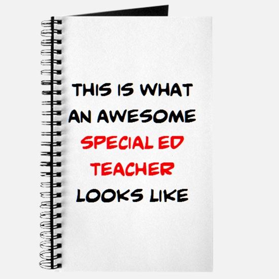 awesome special ed teacher Journal