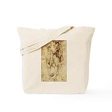 Leonardo da Vinci Horse Rider Tote Bag