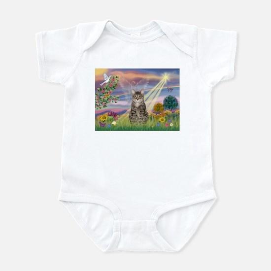 Cloud Star / Tiger Cat Infant Bodysuit