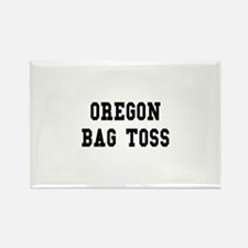 Oregon Bag Toss Rectangle Magnet