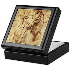 Leonardo da Vinci Horse Rider Keepsake Box