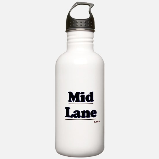 Mid Lane MOBA Water Bottle