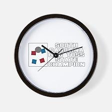 South Carolina Bag Toss State Wall Clock