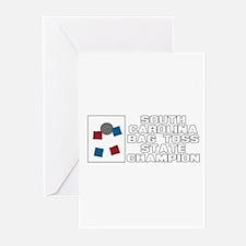 South Carolina Bag Toss State Greeting Cards (Pk o