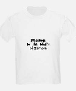 Blessings  to  the  Mashi of  T-Shirt