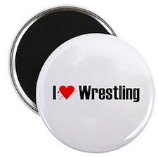 "I love wrestling 2.25"" Magnet (100 pack)"