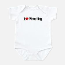 I love wrestling Infant Bodysuit