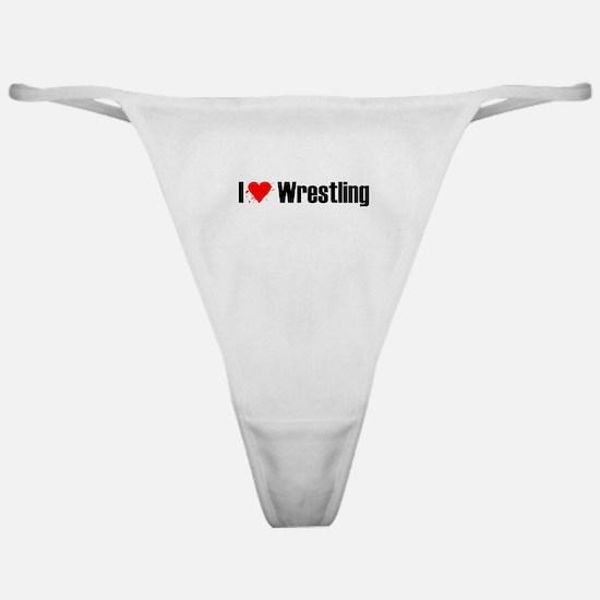 I love wrestling Classic Thong