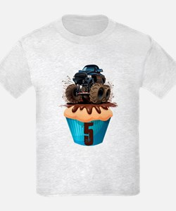Monster Truck 5th Birthday T-Shirt