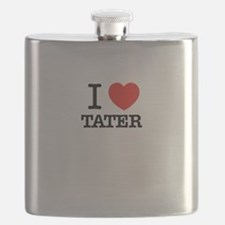 I Love TATER Flask