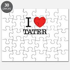 I Love TATER Puzzle