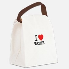 I Love TATER Canvas Lunch Bag