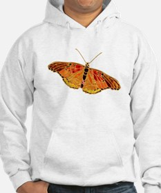 Orange-Gold Butterfly Hoodie