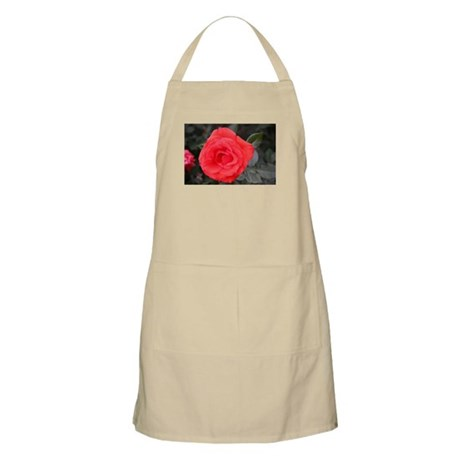 Red Rose (C) BBQ Apron
