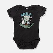 Cute Dental hygienist Baby Bodysuit