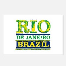 Rio De Janeiro Brazil Postcards (Package of 8)