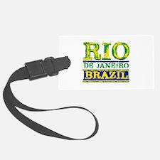 Rio De Janeiro Brazil Luggage Tag