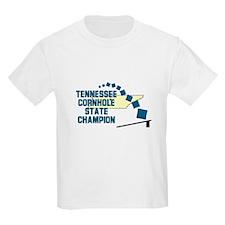 Tennessee Cornhole State Cham T-Shirt