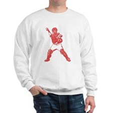 Yadi throwing Sweatshirt