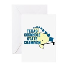 Texas Cornhole State Champion Greeting Cards (Pk o