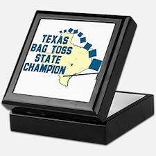 Texas Bag Toss State Champio Keepsake Box