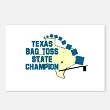 Texas Bag Toss State Champio Postcards (Package o