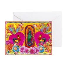 Our Lady of Color Greeting Card