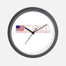 USA National Cornhole Team Wall Clock
